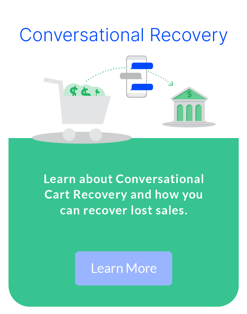 What is Conversational Cart Recovery?